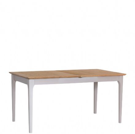 Newhaven Grey Painted 1.6m Butterfly Extending Table
